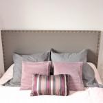 tête de lit tapissée